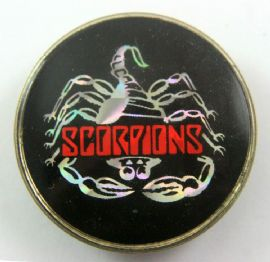 Scorpions - 'Scorpion' Prismatic Crystal Badge